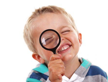 ochii copilului